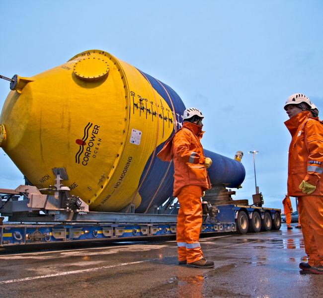 CorPower Ocean C3 Delivery Orkney