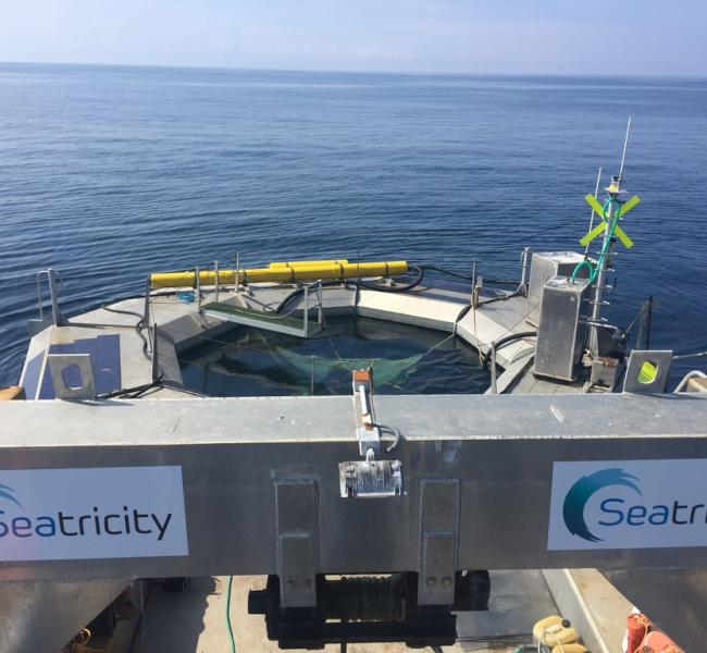 Seatricity Oceanus Transport