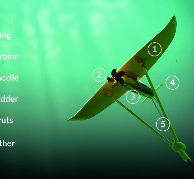 Minesto Deep Green Parts Illustration