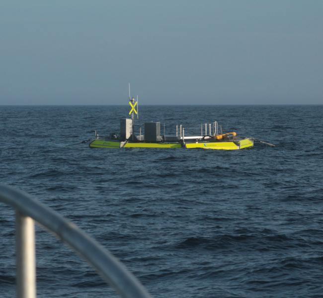 Seatricity Oceanus 2 Installed at Wave Hub