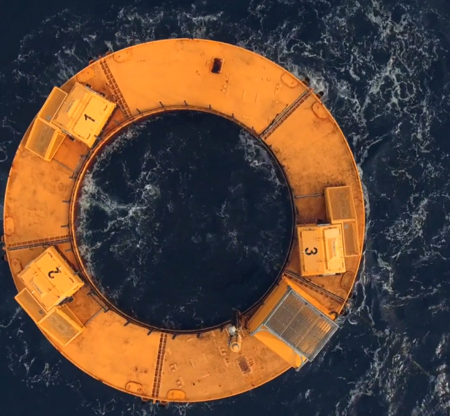 BOLT Sea Power - Bird's-eye View of BOLT Lifesaver (Credit Royer Studios)