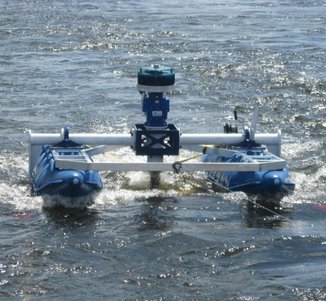 New Energy Corporation - EnviroGen 005 Series Floating Turbine Power Unit