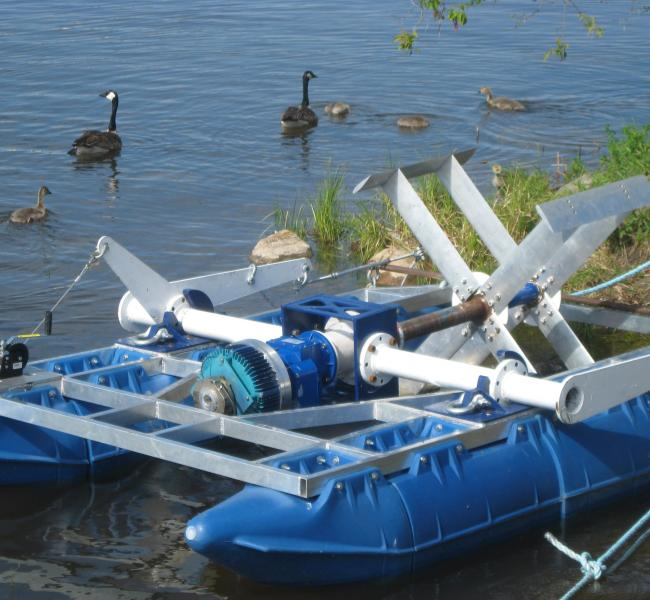 New Energy Corporation - Floating Turbine Power Unit