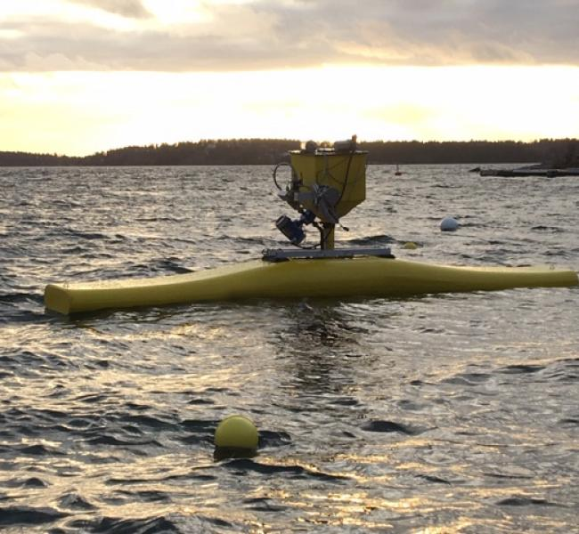NoviOcean - Wave Energy Converter Offshore Test in Stockholm November 2019