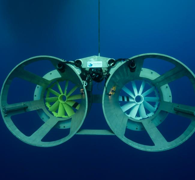 OceanBased Perpetual Energy - Ocean Current Energy Converter