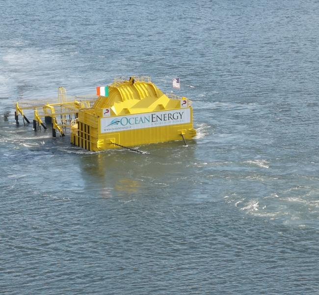 OceanEnergy - OE35 Under Tow