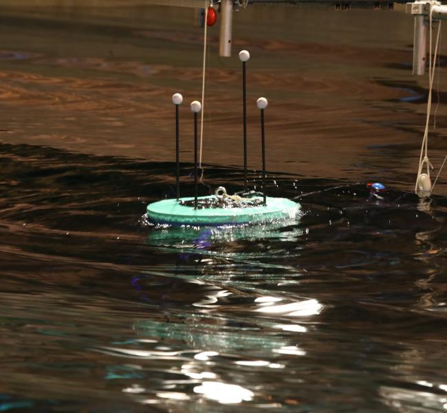 Oneka Water - Wave-Powered Desalination Buoy Testing