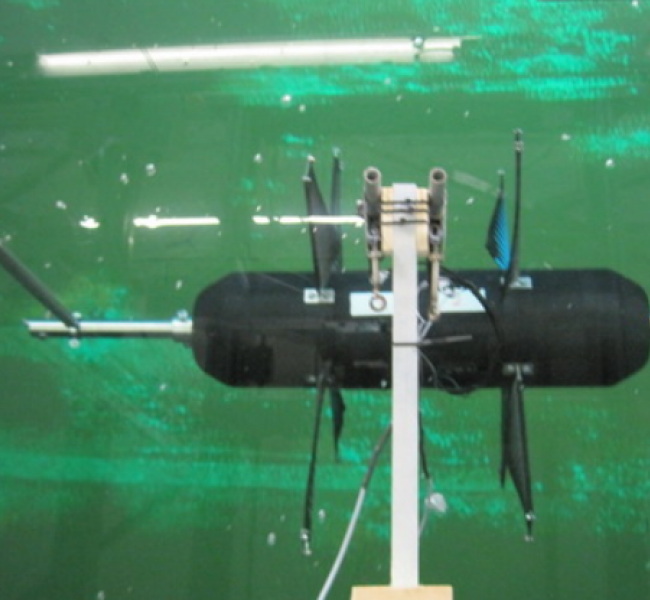 Waveco - Subwave Model in Stadt Towing Tank, Måløy, Norway